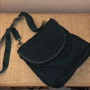 Thirty One Bags Crossbody/backpack Green EUC